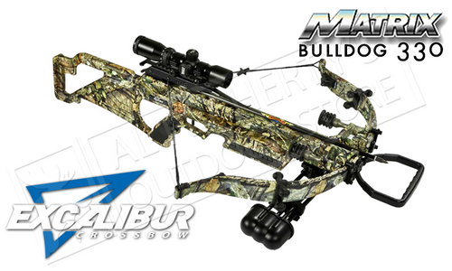 EXCALIBUR MATRIX BULLDOG 330 CROSSBOW PACKAGE IN BREAK-UP COUNTRY CAMO