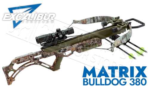 Excalibur Matrix Bulldog 380 Crossbow Package, 380fps #E95859