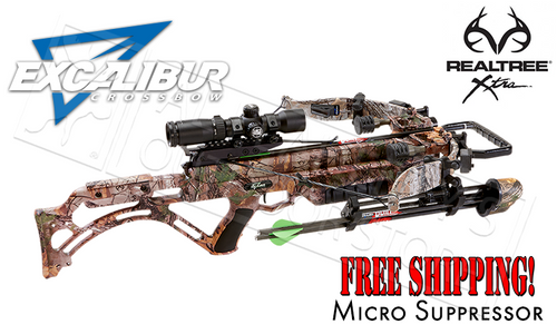 EXCALIBUR MICRO SUPPRESSOR CROSSBOW PACKAGE, 355FPS