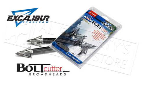 EXCALIBUR BOLTCUTTER BROADHEADS 3-PACK