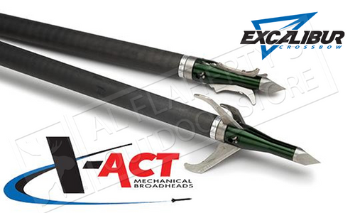 Excalibur X-Act Mechanical Broadheads 3-Pack 100 Grain #6672
