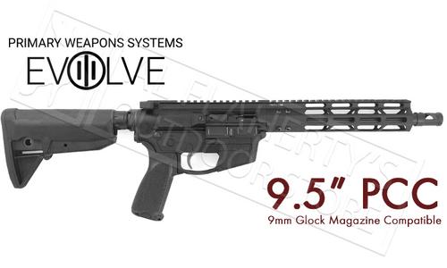 "PWS PCC Carbine, 9.5"" Pistol Caliber Carbine #18M909PH18"