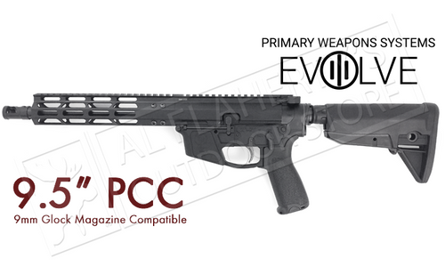 "PWS PCC Carbine, 9.5"" Pistol Caliber Carbine #18M909PH18"