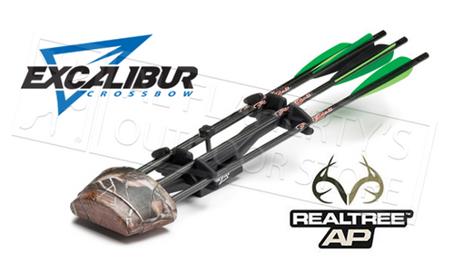 EXCALIBUR CROSSBOW FOUR-ARROW QUIVER IN REALTREE AP CAMO