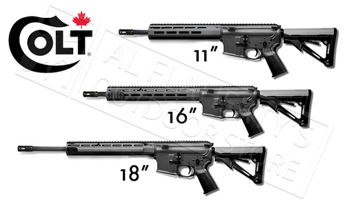 "Colt Canada Diemaco MRR, 11"", 16"" or 18"""