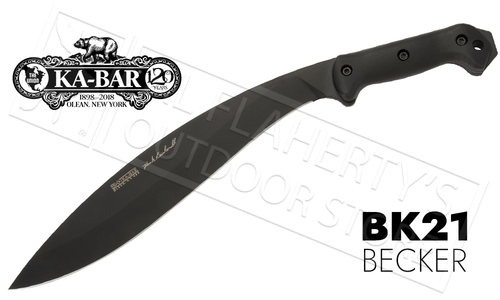 """KA-BAR Becker Reinhardt Kukri 13.25"""" Blade #BK21"""