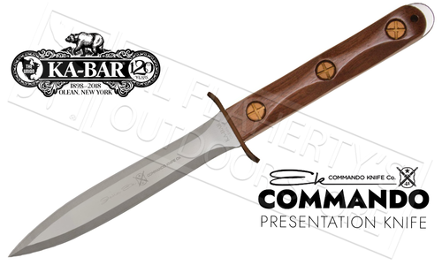 "KA-BAR EK Commando Presentation Knife 6.625"" Blade #EK13"