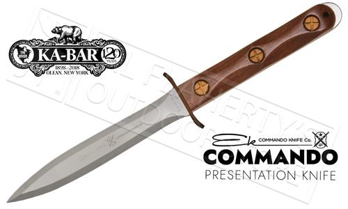 """KA-BAR EK Commando Presentation Knife 6.625"""" Blade #EK13"""