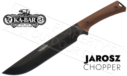 "KA-BAR Jarosz Choppa Machete 9.875"" Blade #7507"