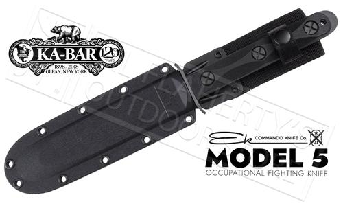 KA-BAR EK Model 5 Occupational Fighting Knife #EK45