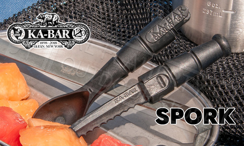 KA-BAR Tactical Spork with Integrated Knife #9909