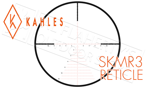 Kahles Scope K318i 3.5-18x50 with Illuminated SKMR3 Reticle #10633