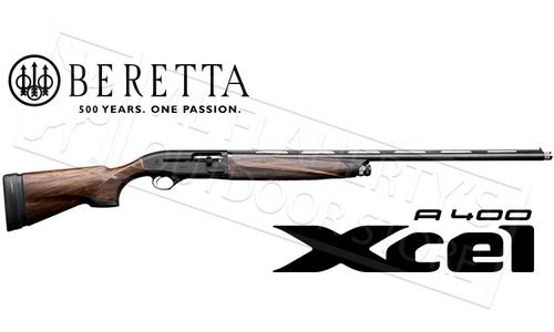 Beretta SG A400 Xcel Black Edition Sporting Shotgun with Kick-Off and B-Fast Adjustable Stock