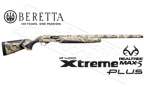 "Beretta SG A400 Xtreme Plus Unico Shotgun in Max5 Camo - 12 Gauge 28"" or 30"" Barrels"