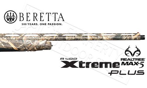 "Beretta SG A400 Xtreme Plus Unico Shotgun in Max5 Camo - 12 Gauge 28"" or 30"" Barrels"