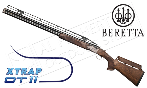 "Beretta Shotgun DT11 XTrap 12 Gauge, 32"" Barrel, 3"" Chamber with Adjustable Stock"