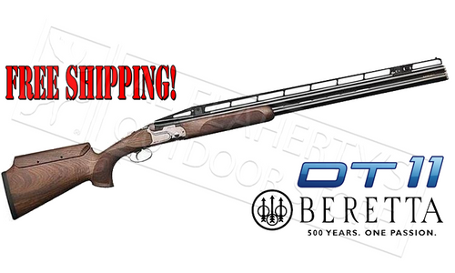 "Beretta SG DT11 XTrap Shotgun 12 Gauge, 32"" Barrel, 3"" Chamber with Adjustable Stock"
