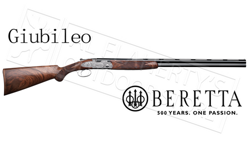 Beretta SG Giubileo Over-Under Shotgun Engraved with Ducks