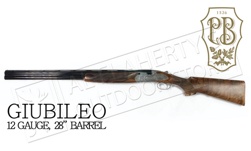 "Beretta SG Giubileo Over-Under Shotgun Engraved with Pheasants - 12 or 20 Gauge with 28"" Barrel #3J76211500741"