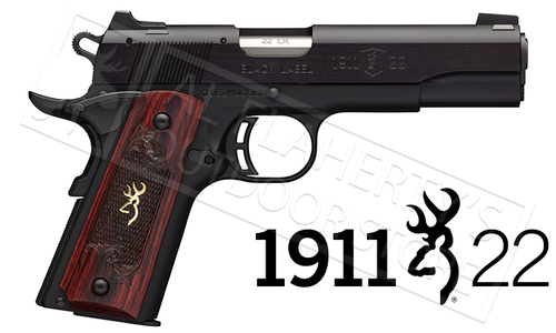Browning Handgun 1911-22 Black Label Medallion 22LR #051851490
