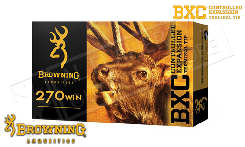 Browning Ammo 270 WIN BXC, 145 Grain Box of 20 #B192202701