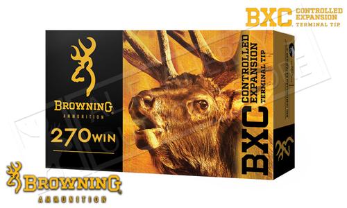 Browning Ammo 270 WIN BXC, 145 Grain Box of 20 #B192202701