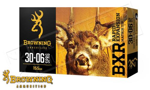 Browning Ammo 30-06 SPRG BXR, 155 Grain Box of 20 #B192130061