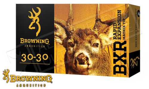 Browning Ammo 30-30 WIN BXR, 155 Grain Box of 20 #B192130301