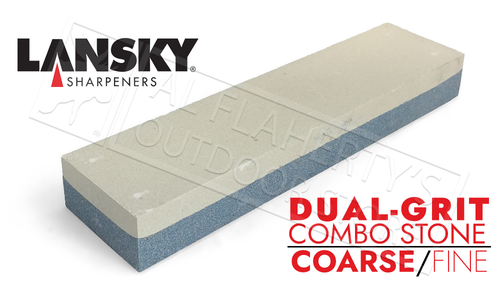 "Lansky ComboStone, 2""x8"" Coarse and Fine Grit #LCB8FC"
