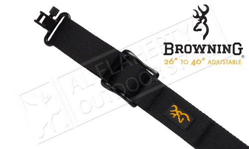 "Browning All Season Web Sling for Rifles and Shotguns, 26"" to 40"" Adjustable #122399925"