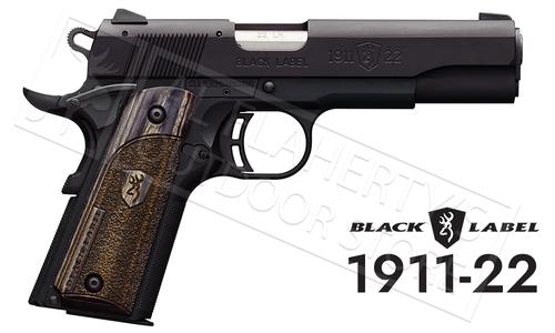 Browning Handgun Black Label 1911-22A1 22LR #051814490
