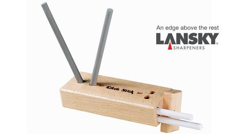 LANSKY DIAMOND/CERAMIC 4 ROD TURN BOX KNIFE SHARPENER #TB-2D2C