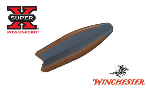 WINCHESTER 270 WIN SUPER X, POWER POINT 130 GRAIN BOX OF 20