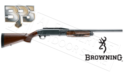 "Browning SG BPS Rifled Shotgun - 12 or 20 Gauge 22"" Barrel with Cantilever, Wood Stock"