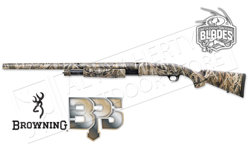 "Browning SG BPS Shotgun in Mossy Oak Shadow Grass Camo - 12 Gauge, 3.5"" Chamber, 28"" Barrel #012271204"