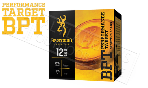 "Browning BPT Sporting Clay Shells 12 Gauge 2-3/4"", No. 7-1/2 Shot 1-1/8 oz. 1200 FPS, Case of 250 #B193621227"