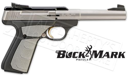 Browning Handgun BuckMark Camper UFX Stainless 22LR #051483490