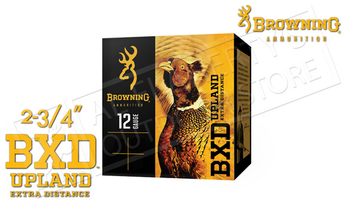 """Browning Ammo BXD Extra Distance Upland Shells 12 Gauge 2.75"""" 1-3/8 oz. Box of 25 #B19351122"""