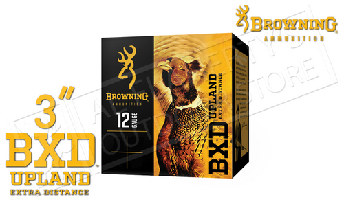 """Browning Ammo BXD Extra Distance Upland Shells 12 Gauge 3"""" 1-5/8 oz. Box of 25 #B19351123"""