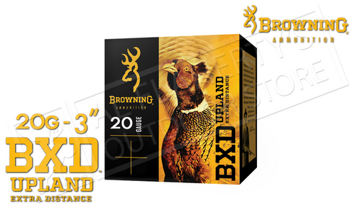 """Browning Ammo BXD Extra Distance Upland Shells 20 Gauge 3"""" 1-1/4 oz Box of 25 #B19351203"""