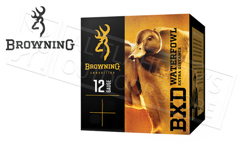 "Browning Ammo BXD Waterfowl Steel Shot Shells 12 Gauge 3.5"" 1-1/2 oz Box of 25 #B19341124"