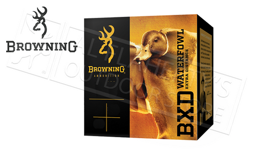 "Browning Ammo BXD Waterfowl Steel Shot Shells 20 Gauge 3"" 1 oz Box of 25 #B19341203"