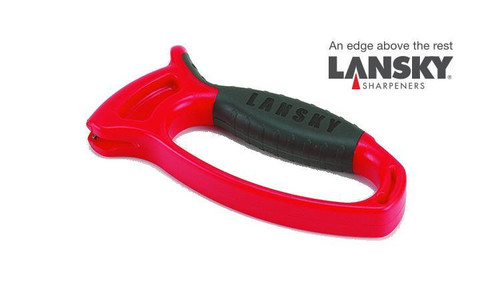 LANSKY DELUXE QUICK EDGE KNIFE SHARPENER #LSTCN