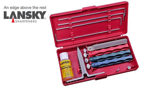 LANSKY UNIVERSAL SHARPENING SYSTEM / PRECISION KNIFE SHARPENING KIT #LKUNV