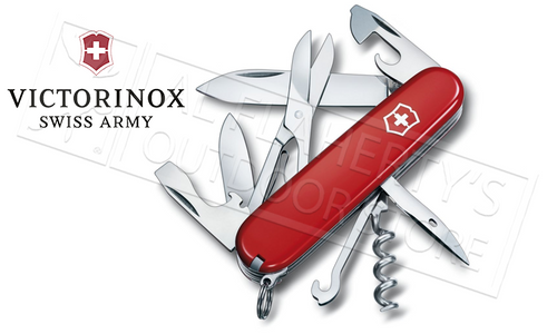 VICTORINOX SWISS ARMY CLIMBER KNIFE #53381