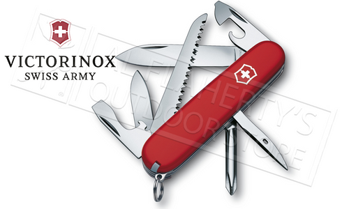VICTORINOX SWISS ARMY HIKER KNIFE #53831