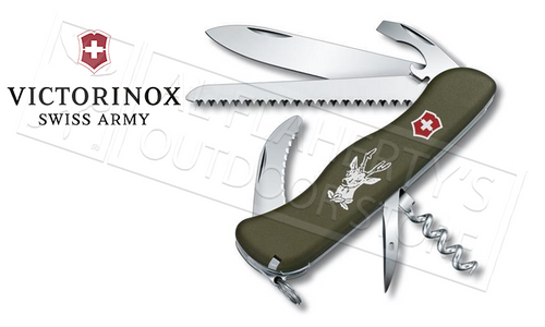 VICTORINOX SWISS ARMY HUNTER KNIFE #53642