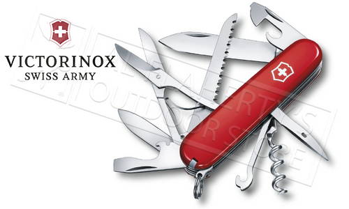 VICTORINOX SWISS ARMY HUNTSMAN KNIFE #53201