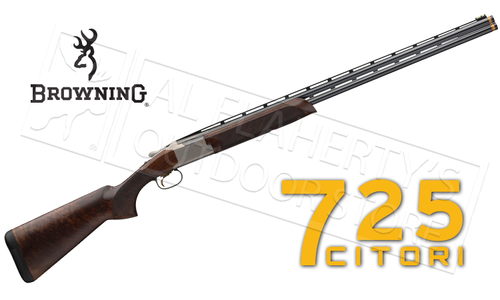 "Browning SG Citori 725 Sporting with Adjustable Comb 12 gauge, 30"" or 32"" Barrel, 3"" Chamber"