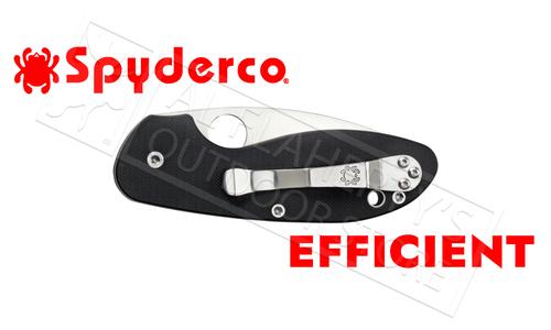Spyderco Efficient Folding Knife #C216GP